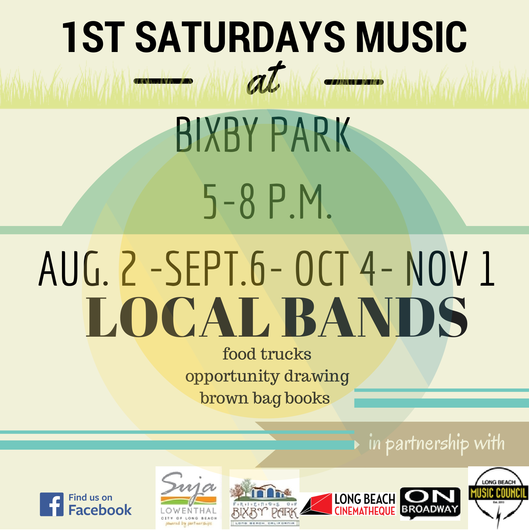 1st Saturdays Music - Bixby Park